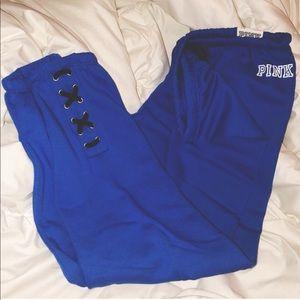 NEW PINK Victoria's Secret Classic Sweatpants